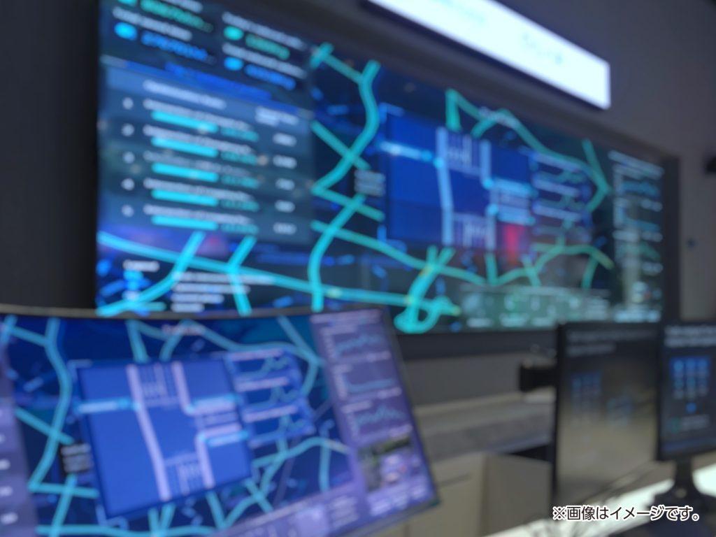 道路管制室のイメージ写真
